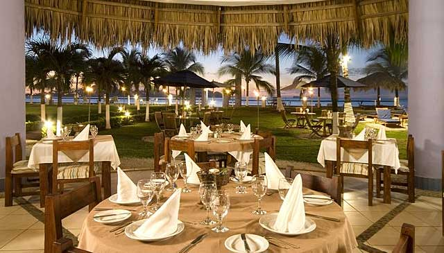 Bahia del sol Beach Front Boutique Hotel dining room