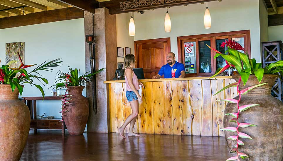 Copa de Arbol Eco Lodge reception