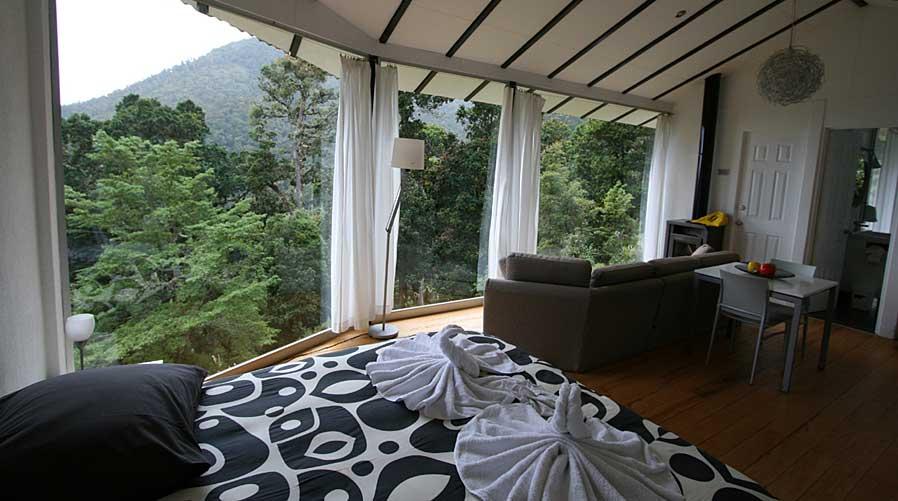 Dantica Cloud Forest Lodge room