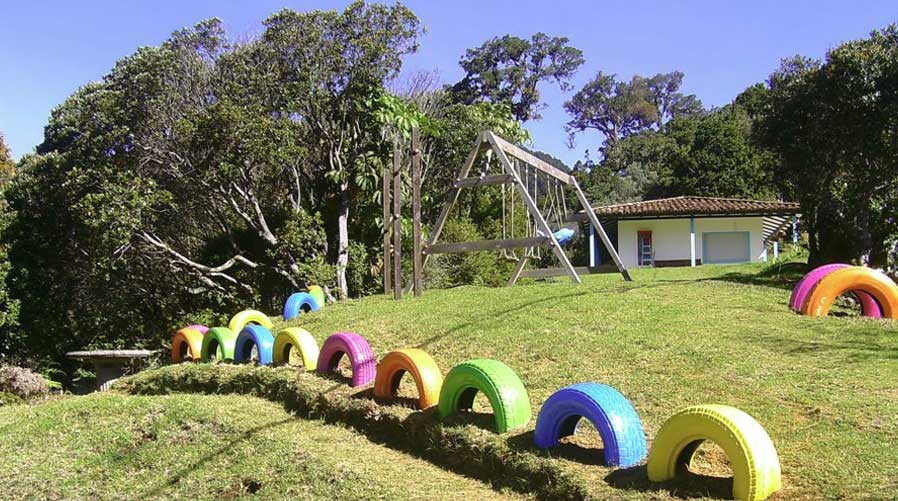 Dantica Cloud Forest Lodge play area