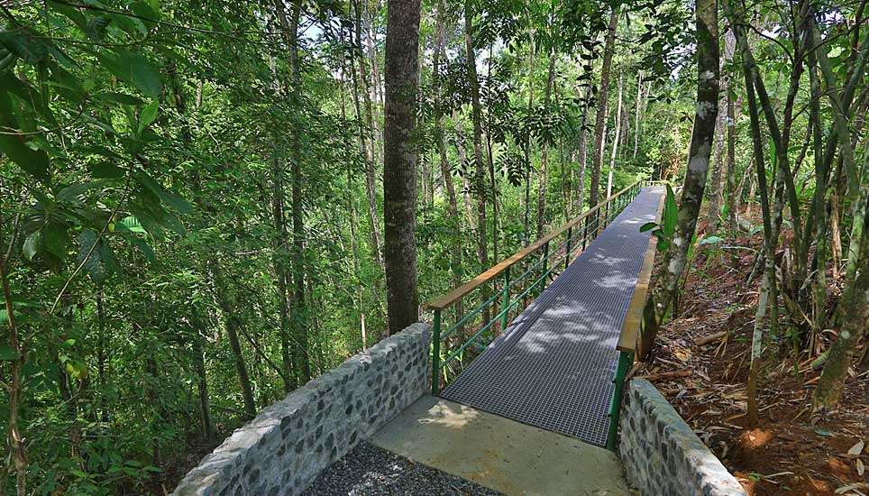 El Remanso Lodge bridge