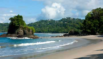 Costa Rica beach holiday Pacific coast