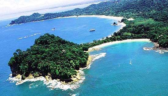 Manuel Antonio coastline