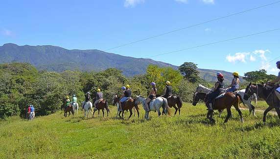 horse riding at Buena Vista Lodge