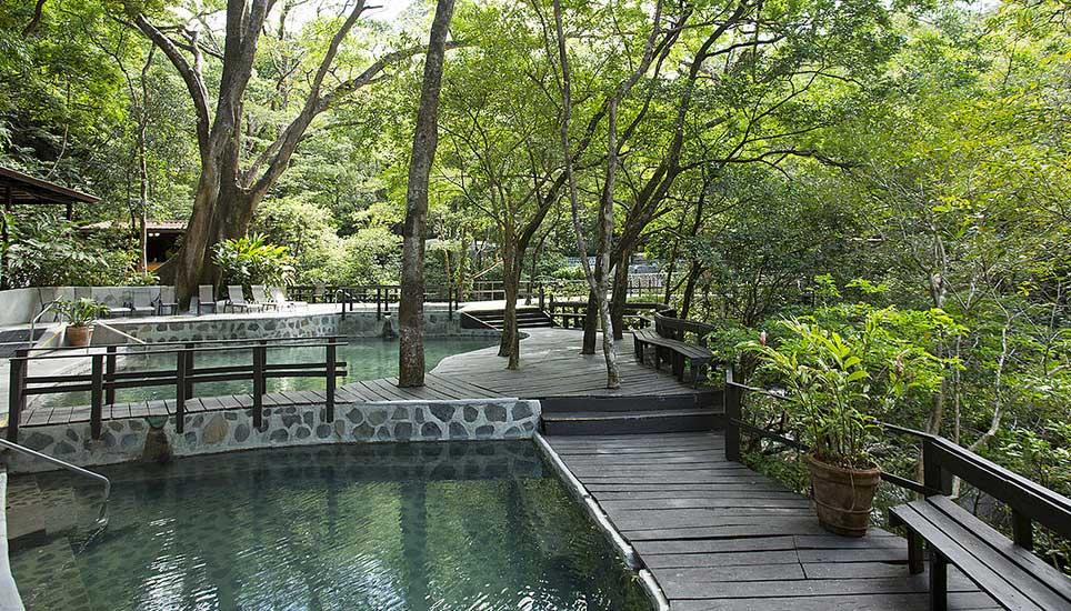 Buena Vista Lodge pool area