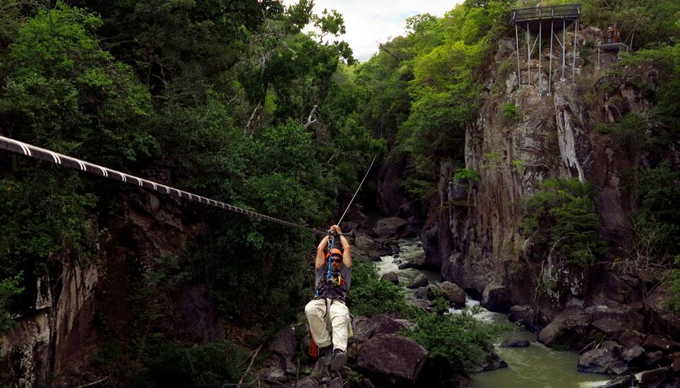 Rio Perdido - canyon zipline