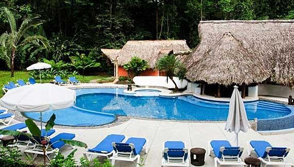 Cariblue Beach and Jungle Resort pool