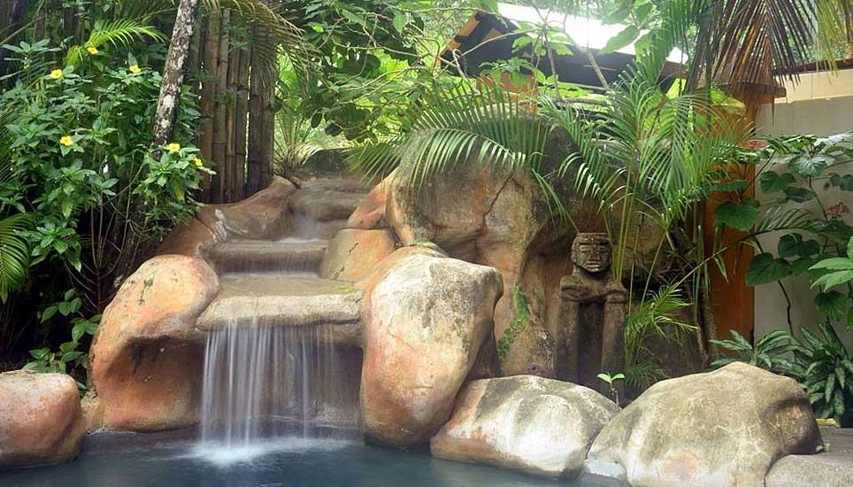 Cariblue Beach and Jungle Resort ornamental pond