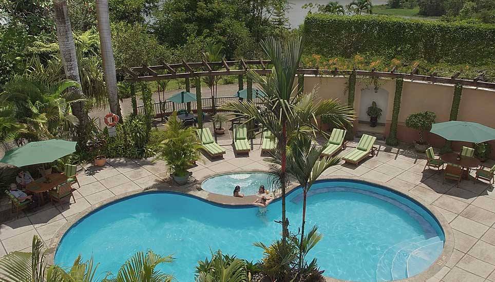 Casa Turire pool