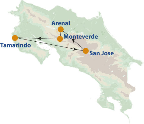 Costa-Rica-Selfdrive-map