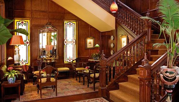 Hotel Grano de Oro inside area