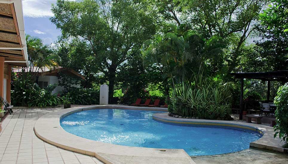 Hacienda Guachipelín pool