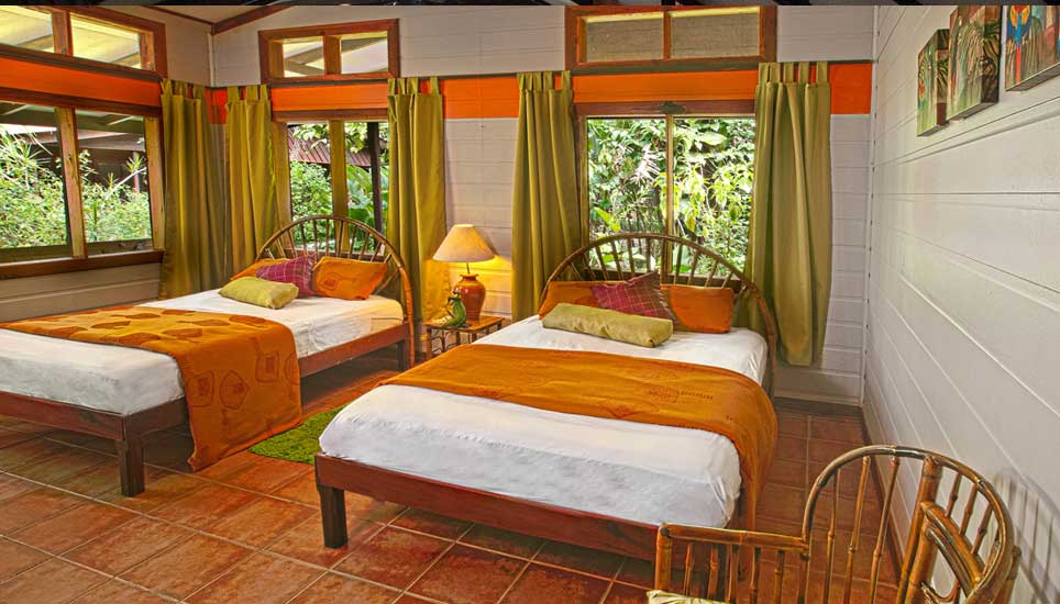 Pachira Lodge room
