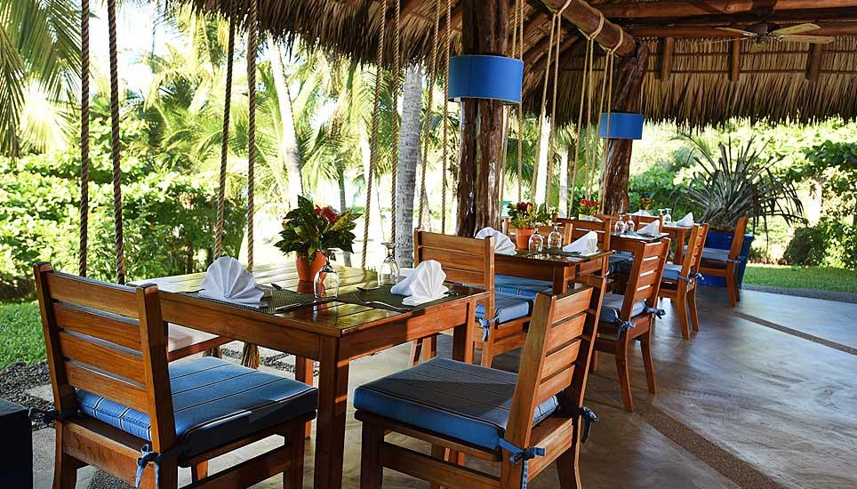 dining area at Hotel Punta Islita