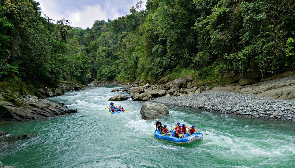 white water rafting pacuare