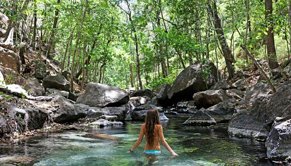 Rio Perdido hot spring