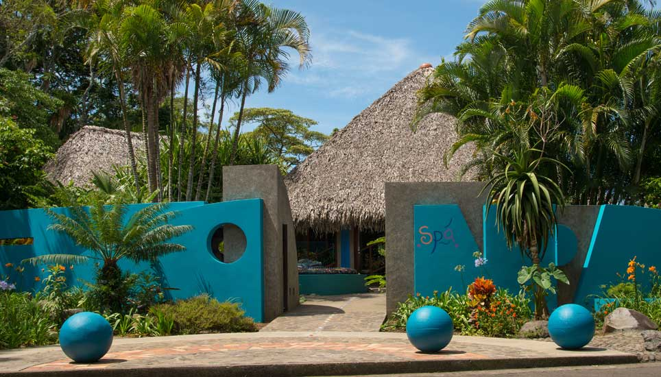 Xandari Resort & Spa entrance