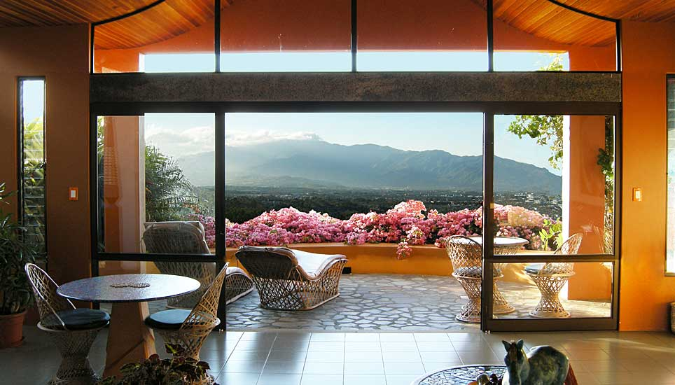 Xandari Resort & Spa view form a room
