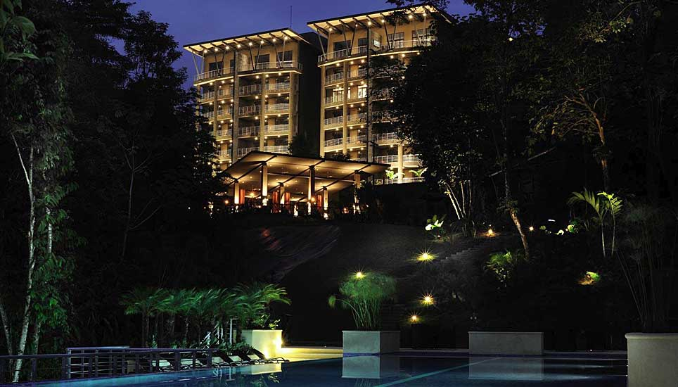 Los Altos Beach Resort and Spa at night