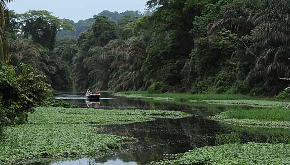 Mawamba Lodge boat trip