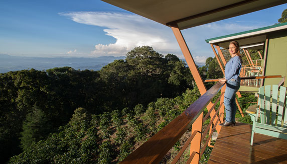Costa Rica morning at Chayote Lodge