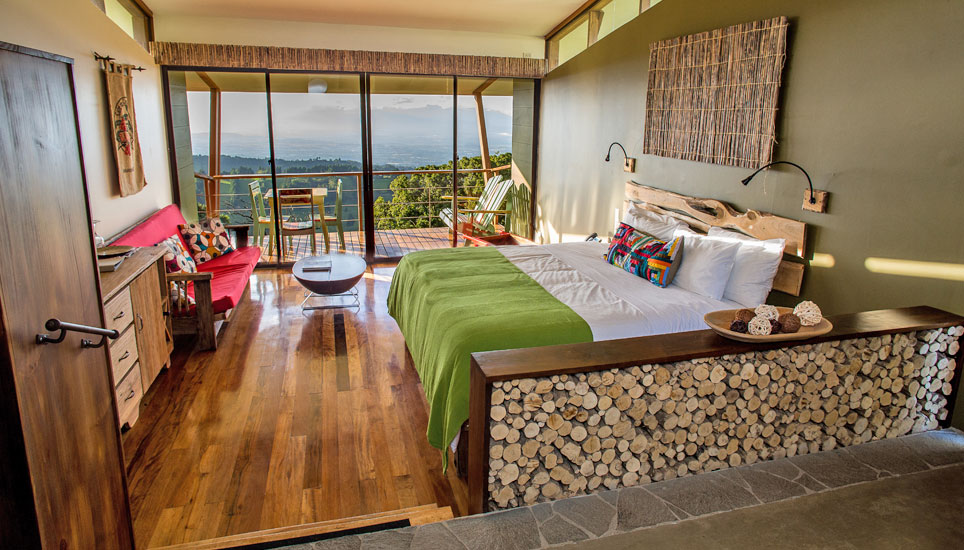 Chayote Lodge suite