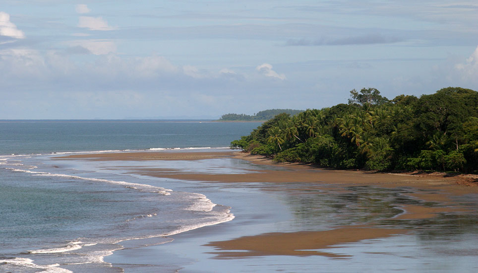 view of beach at Bahia Ballena