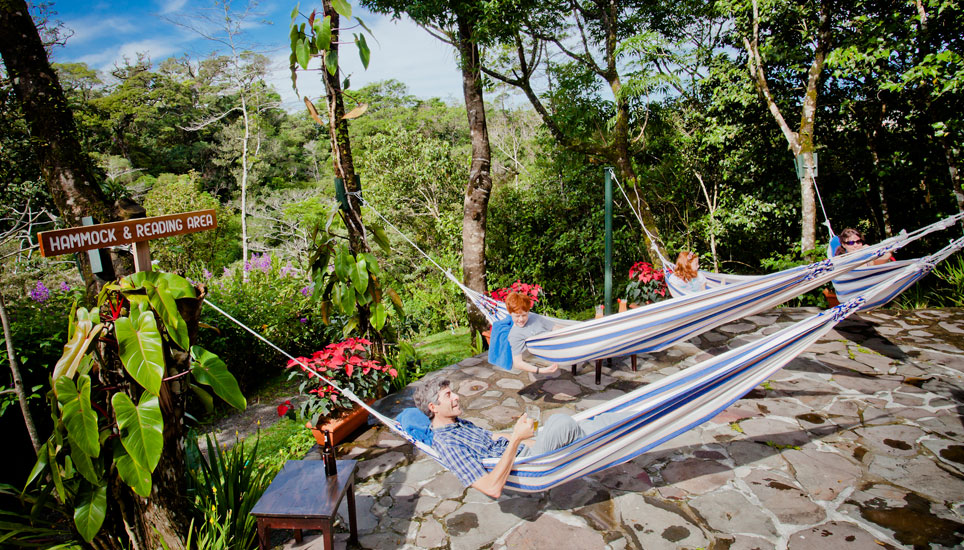 Monteverde Lodge hammocks