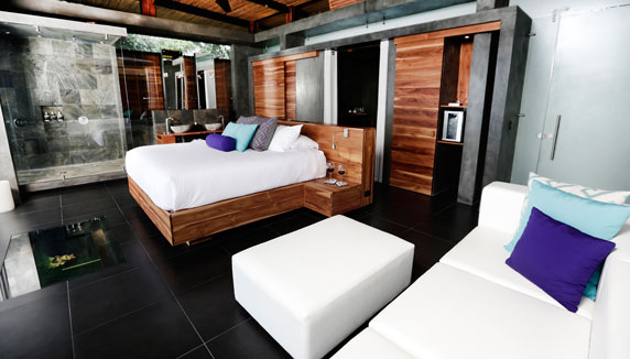 typical room at Kura Design Villas