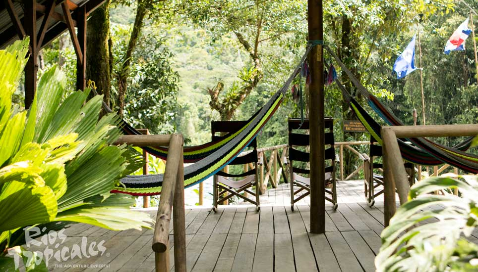 Pacuare Lodge decking