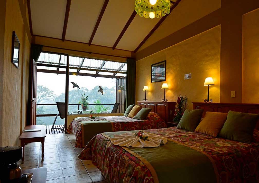 AOL bedroom and balcony
