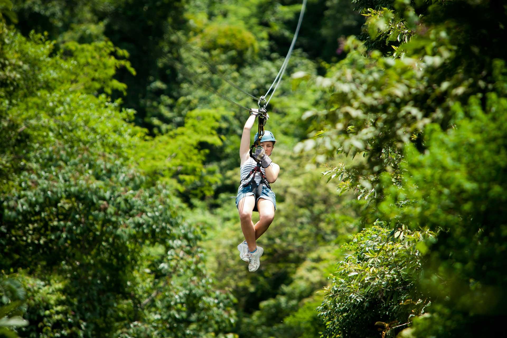 Monteverde-zipling